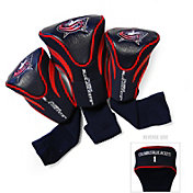 Team Golf Columbus Blue Jackets 3-Pack Contour Headcovers