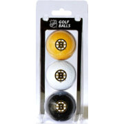 Team Golf Boston Bruins Three Pack Golf Ball Set