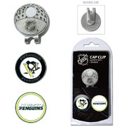 Team Golf Pittsburgh Penguins Cap Clip And Marker Set