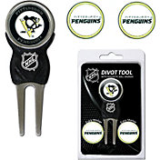 Team Golf Pittsburgh Penguins Divot Tool and Marker Set