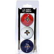 Team Golf Florida Panthers Three Pack Golf Ball Set