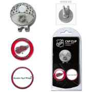 Team Golf Detroit Red Wings Cap Clip And Marker Set