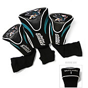 Team Golf San Jose Sharks 3-Pack Contour Headcovers