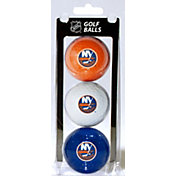 Team Golf New York Islanders Three Pack Golf Ball Set