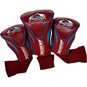 Team Golf Colorado Avalanche 3-Pack Contour Headcovers