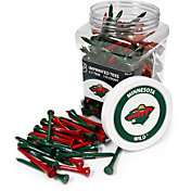 Team Golf Minnesota Wild 175 Count Golf Tee Jar