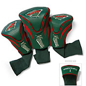 Team Golf Minnesota Wild 3-Pack Contour Headcovers