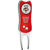 Team Golf Wisconsin Badgers Switchfix Divot Tool