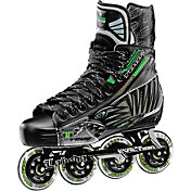 TOUR Hockey Youth Fish BoneLite Pro Black Roller Hockey Skates