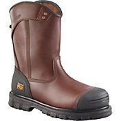 "Timberland PRO Men's Caprock Alloy Toe 8"" Pull-On Work Boots"