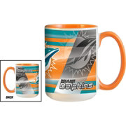 Miami Dolphins 11oz. Team Colored Mug
