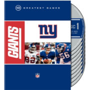 New York Giants 10 Greatest Games DVD Set
