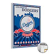 That's My Ticket Los Angeles Dodgers Team Logo Canvas Print