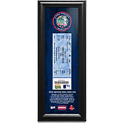 Boston Red Sox David Ortiz 500 Home Run a Ticket to History Frame Print