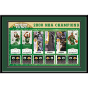 That's My Ticket Boston Celtics 2008 NBA Finals Tickets Framed Print