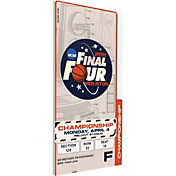 That's My Ticket UConn Huskies 2011 NCAA Final Four Canvas Mega Ticket