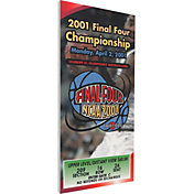 That's My Ticket Duke Blue Devils 2001 NCAA Final Four Canvas Mega Ticket