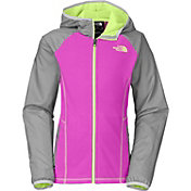 The North Face Girls' Glacier Track Full Zip Fleece Hoodie