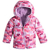 The North Face Infant Reversible Mossbud Swirl Insulated Jacket