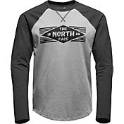 The North Face Men's 66 Diamonds Raglan Long Sleeve Shirt