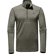 The North Face Men's Eng Wool Quarter Zip Long Sleeve Shirt