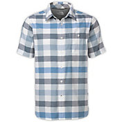 The North Face Men's Send Train Button Up Short Sleeve Shirt