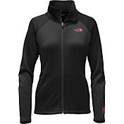 The North Face Women's Pink Ribbon Agave Full Zip Jacket