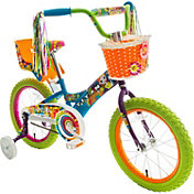 "Titan Girls' Flower Power Princess 16"" Bike"