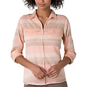 Toad & Co. Women's Airbrush Button Up Long Sleeve Shirt