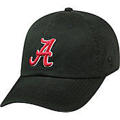 Top of the World Men's Alabama Crimson Tide Black Crew Adjustable Hat