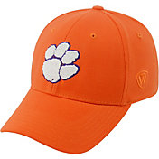 Top of the World Men's Clemson Tigers Orange Premium Collection M-Fit Hat