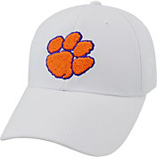 Top of the World Men's Clemson Tigers White Premium Collection M-Fit Hat