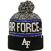 Top of the World Men's Air Force Falcons Black/White/Blue Acid Rain Knit Beanie