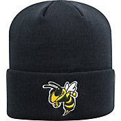 Top of the World Unisex Georgia Tech Yellow Jackets Navy Simple Knit Beanie