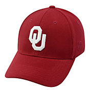 Top of the World Men's Oklahoma Sooners Crimson Premium Collection M-Fit Hat