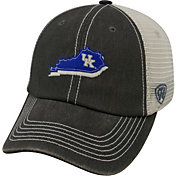 Top of the World Men's Kentucky Wildcats Grey/White United Flexfit Hat