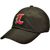 Top of the World Men's Louisville Cardinals Black Crew Adjustable Hat