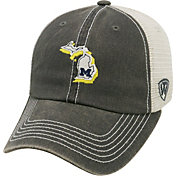Top of the World Men's Michigan Wolverines Grey/White United Adjustable Snapback Hat