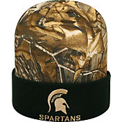 Top of the World Men's Michigan State Spartans Camo/Green Realtree Cool Beanie