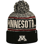 Top of the World Men's Minnesota Golden Gophers Black/White/Maroon Acid Rain Knit Beanie