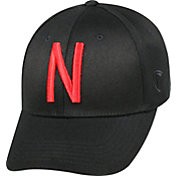 Top of the World Men's Nebraska Cornhuskers Black Premium Collection M-Fit Hat