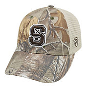 Top of the World Men's NC State Wolfpack Camo Prey Hat