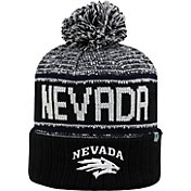 Top of the World Men's Nevada Wolf Pack Black/Blue/White Acid Rain Knit Beanie