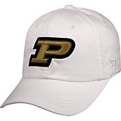 Top of the World Men's Purdue Boilermakers White Crew Adjustable Hat