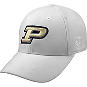Top of the World Men's Purdue Boilermakers White Premium Collection M-Fit Hat