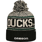 Top of the World Men's Oregon Ducks Black/White/Green Acid Rain Knit Beanie