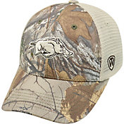 Top of the World Men's Arkansas Razorbacks Camo Prey Hat
