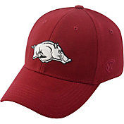 Top of the World Men's Arkansas Razorbacks Cardinal Premium Collection M-Fit Hat