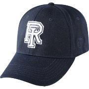 Top of the World Men's Rhode Island Rams Navy Premium Collection M-Fit Hat