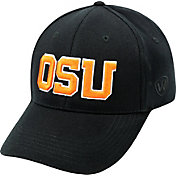 Top of the World Men's Oregon State Beavers Black Premium Collection M-Fit Hat